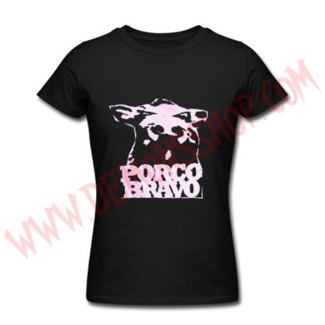 Camiseta Chica MC Porco Bravo