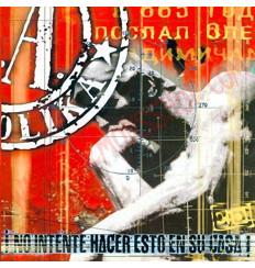 Vinilo LP Soziedad Alkoholika - No intente hacer esto en su casa