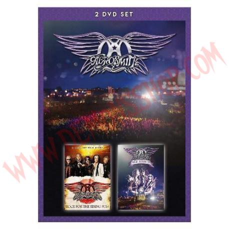 DVD Aerosmith - Rocks Donington 2014 + Rock For The Rising Sun