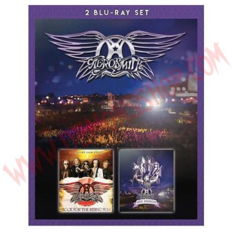 Blu-Ray Aerosmith - Rocks Donington 2014 + Rock For The Rising Sun