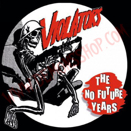Vinilo LP Violators ‎– The No Future Years