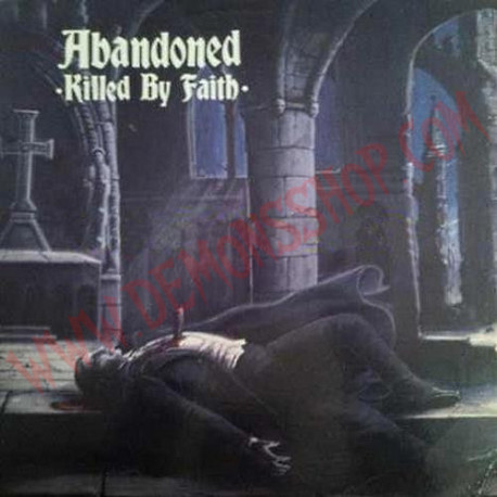 Vinilo LP Abandoned ‎– Killed By Faith