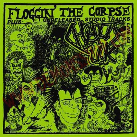 Vinilo LP Chaos U.K. – Floggin' The Corpse