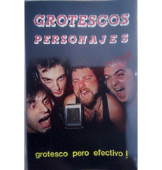 Cassette Grotescos Personajes – Grotesco Pero efectivo!