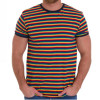 Camiseta MC Rayas Rainbow