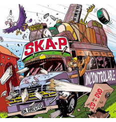 CD SKA-P - Incontrolable