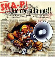 CD SKA-P - ¡¡Que Corra La Voz!!
