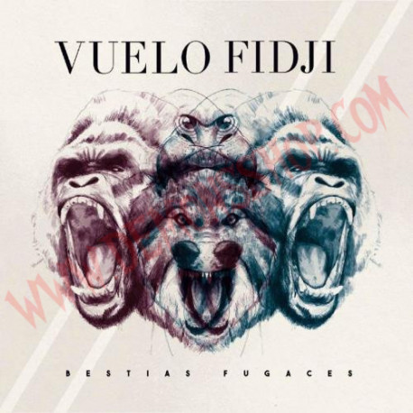 CD Vuelo Fidji - Bestias Fugaces