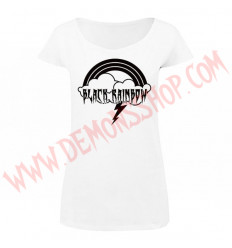 Camiseta MC Chica Black Rainbow