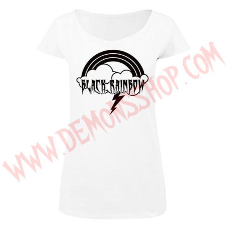 Camiseta MC Chica Black Rainbow