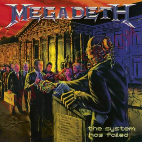 Vinilo LP Megadeth - The system has failed