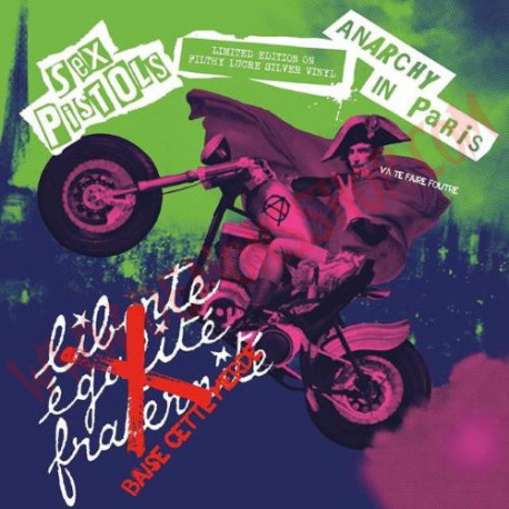 Vinilo LP Sex Pistols - Anarchy In Paris