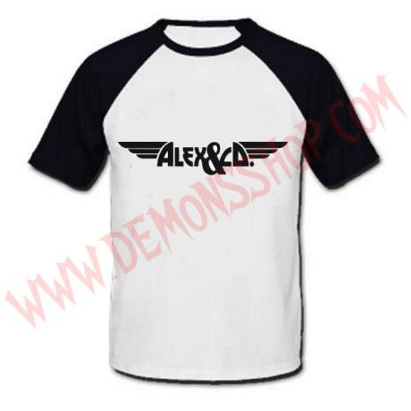 Camiseta Raglan MC Alex & Co