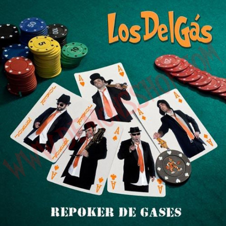 CD Los Del Gás – Repoker de Gases