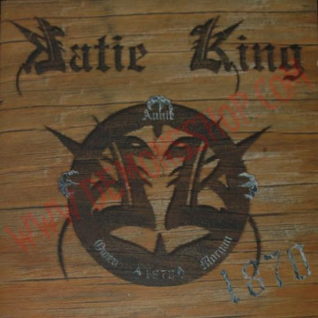 CD Katie King ‎– 1870