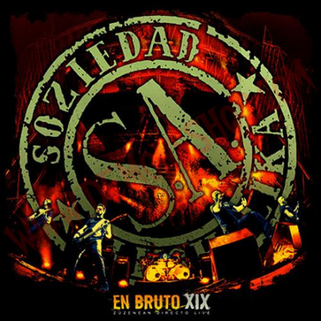 DVD Soziedad Alkoholika - En Bruto XIX
