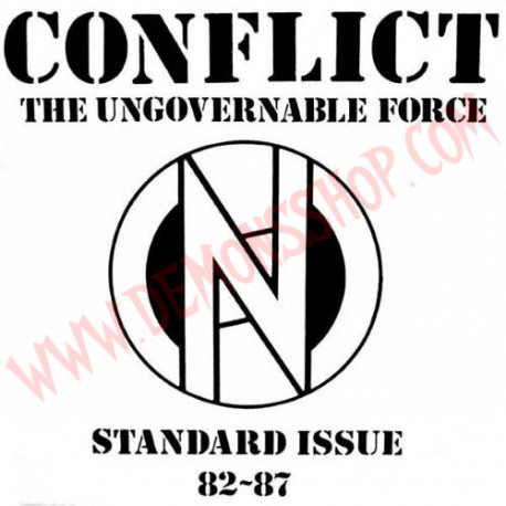 Vinilo LP Conflict ‎– Standard Issue 82 ~ 87