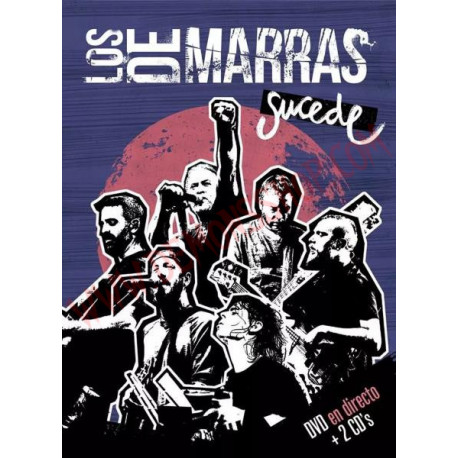 DVD Los de Marras - Sucede