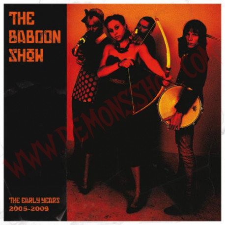 Vinilo LP The Baboon Show ‎– The Early Years 2005 - 2009