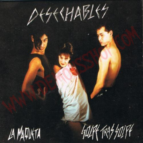 CD Desechables – La Maqueta / Golpe Tras Golpe