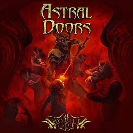 CD Astral Doors - Worship Or Die
