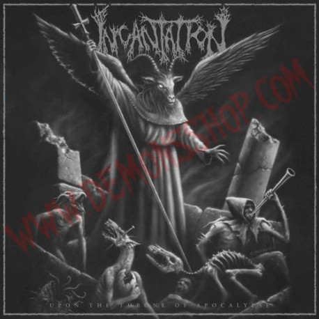 Vinilo LP Incantation - Upon The Throne Of Apocalypse