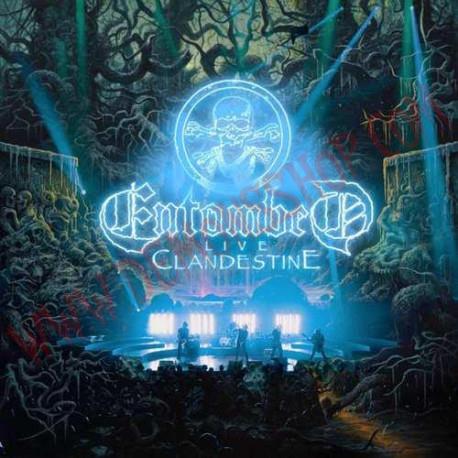 Vinilo LP Entombed - Clandestine