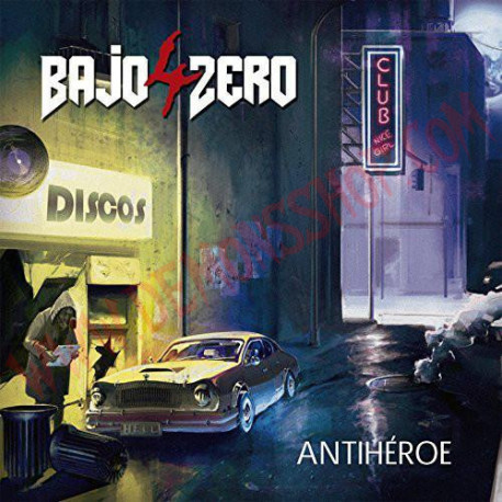 CD 4 Bajo Zero – Antihéroe