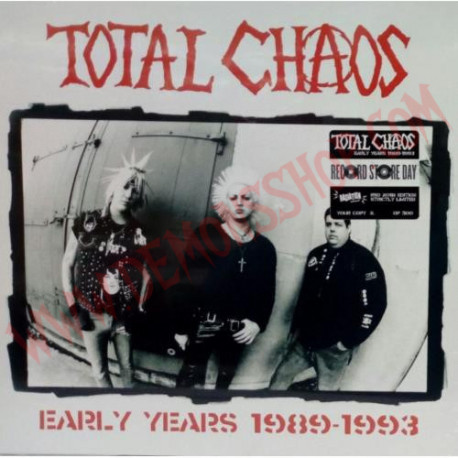 Vinilo LP Total Chaos – Early Years 1989-1993