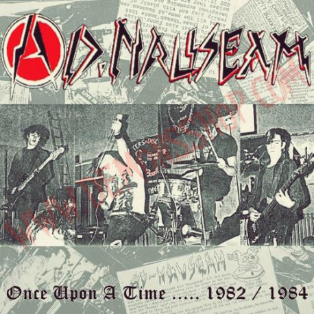 Vinilo LP Ad Nauseam ‎– Once Upon A Time.... 1982 / 1984