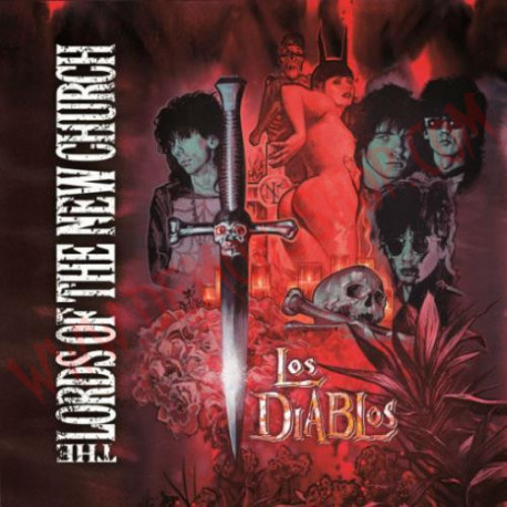 Vinilo LP The Lords Of The New Church ‎– Los Diablos