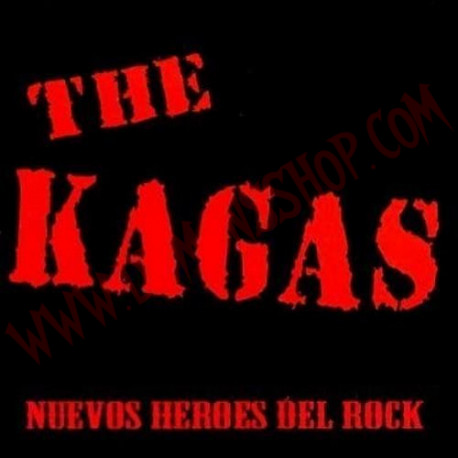 Vinilo LP The Kagas - Nuevos heroes del rock
