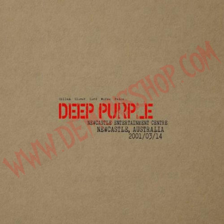 CD Deep Purple - Newcastle 2001