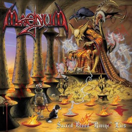 Vinilo LP Magnum - Sacred Blood - Divine Lies