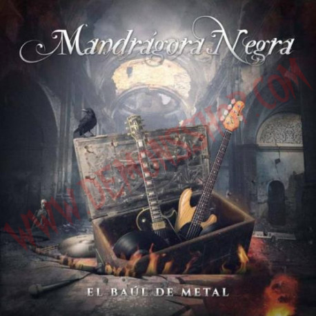 CD Mandrágora Negra – El baul de metal
