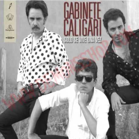 CD Gabinete Caligari - Solo Se Vive Una Vez Colección Definitiva