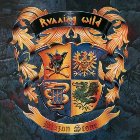CD Running Wild - Blazon stone
