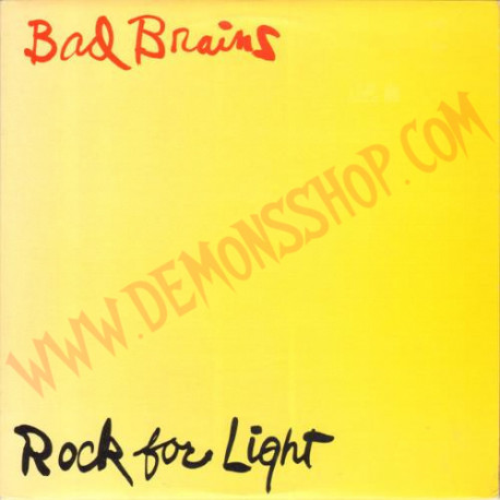 Vinilo LP Bad Brains - Rock For Light