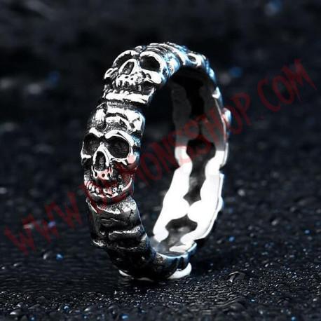 Anillo Skulls LT