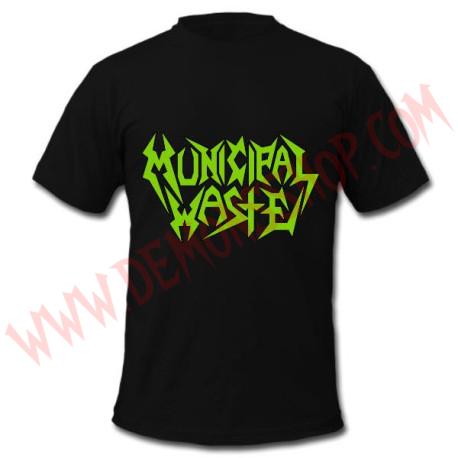 Camiseta MC Municipal Waste