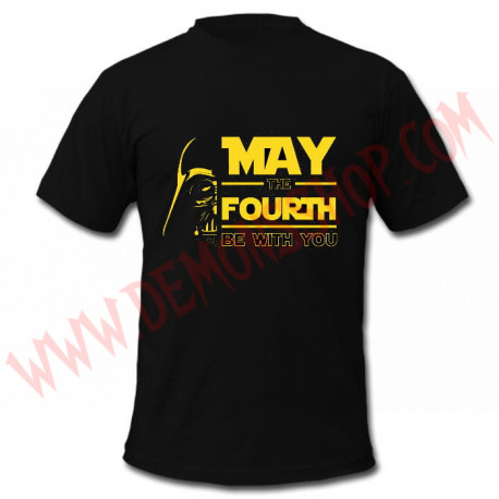 Camiseta MC Star Wars (May the Fourth)