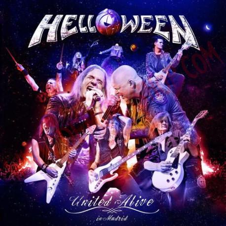 CD Helloween - United alive in Madrid