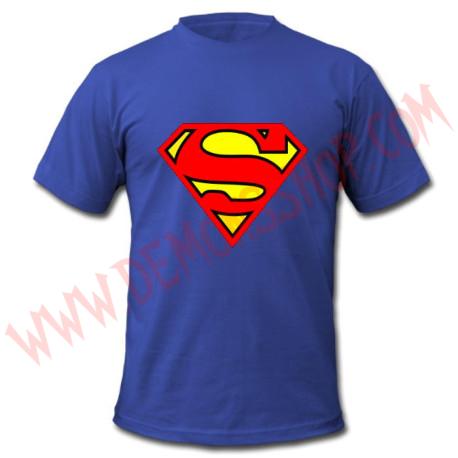 Camiseta MC Superman (Azul)