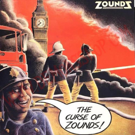 Vinilo LP Zounds – The Curse Of Zounds