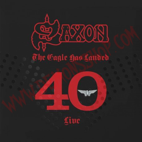 CD Saxon ‎– The Eagle Has Landed 40 Live