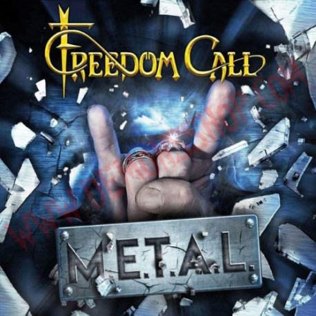 Vinilo LP Freedom Call - M.E.T.A.L.