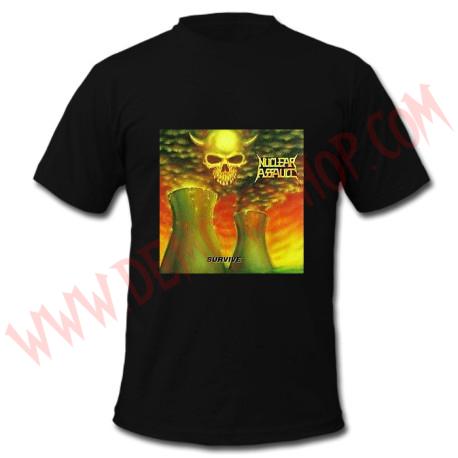 Camiseta MC Nuclear Assault