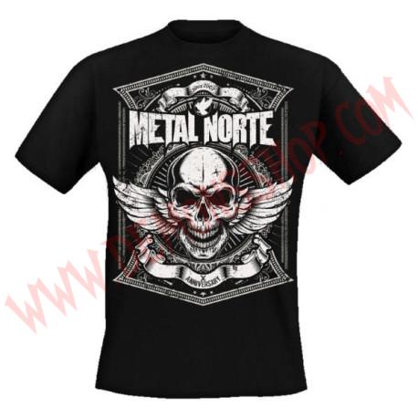 Camiseta MC Metal Norte X Anniversary