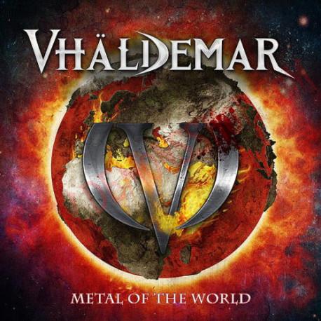 CD Vhaldemar - Metal of the World