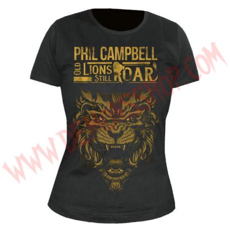 Camiseta Chica MC Phil Campbell